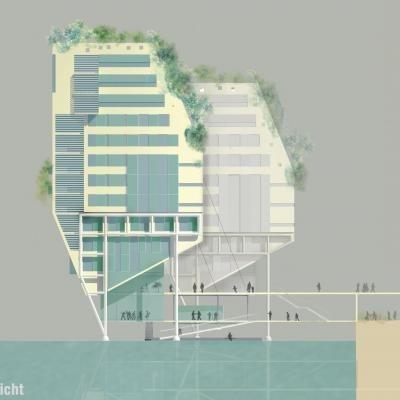 Проект Szyszkowitz-Kowalski + Partner. 3-е место