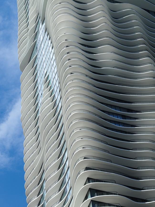 Башня Aqua © Steve Hall @ Hedrich Blessing