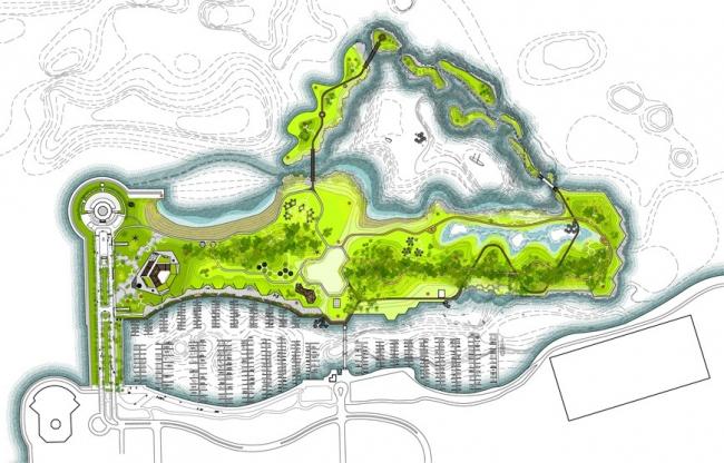Парк Нортерли-айленд © Studio Gang Architects
