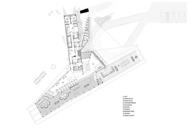 Отель Refugia © Mobil Arquitectos