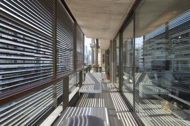 Жилой комплекс в квартале Faena (Aleph) © Nigel Young