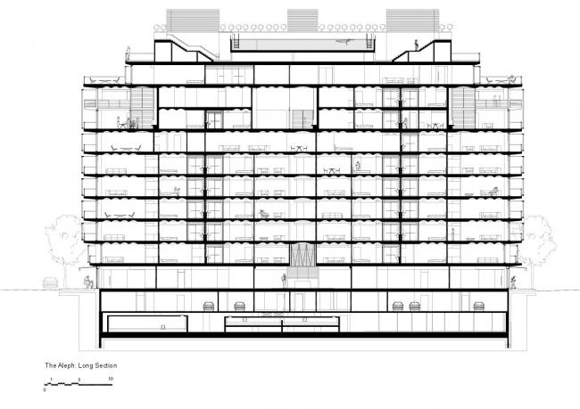 Жилой комплекс в квартале Faena (Aleph) © Foster + Partners