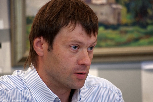 Главный архитектор Самары Виталий Стадников. Фотография samaralife.com