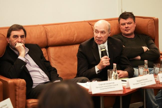 Сергей Скуратов, Андрей Боков, Андрей Лукьянов. Фотографии предоставлены институтом «Стрелка»