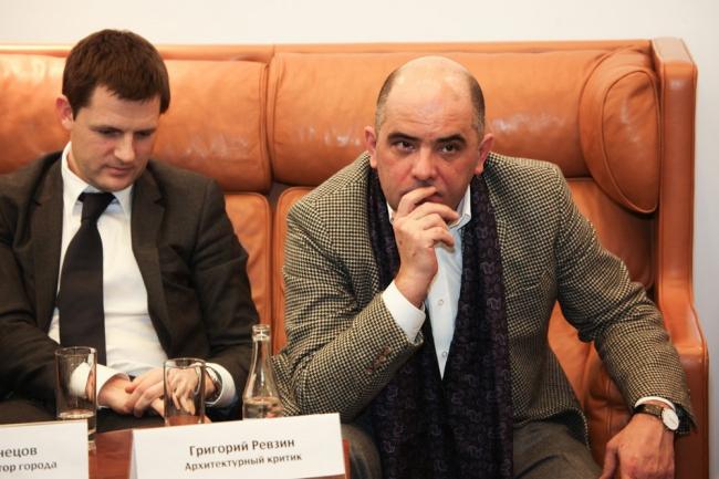Сергей Кузнецов, Григорий Ревзин. Фотографии предоставлены институтом «Стрелка»