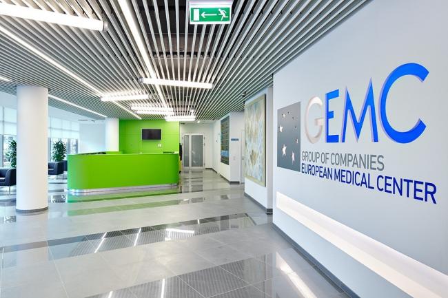 Интерьеры клинико-диагностического медицинского центра на ул. Щепкина