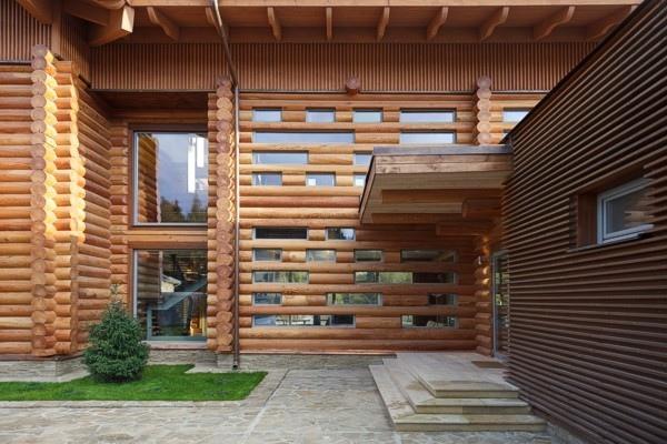Частный загородный дом Locomotion-1 © Архитектурное бюро Романа Леонидова