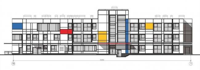 Индивидуальный проект ДОУ на 350 мест (16 групп) г. Москва, ул. Дубнинская, 34