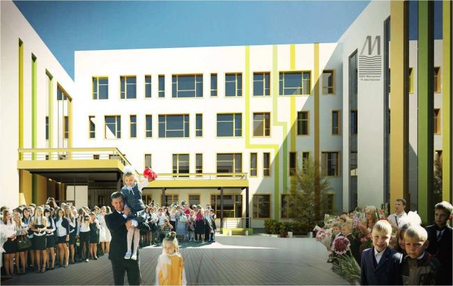 Общеобразовательная школа на 550 мест ул. Перовская, вл. 66, корпус 10. МОСПРОЕКТ