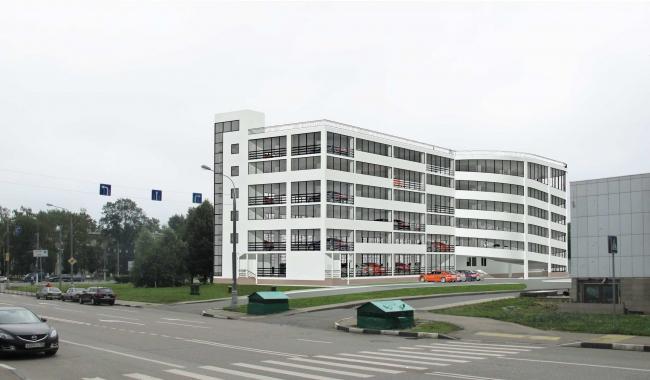 Многоуровневый гаражный комплекс Севастопольский проспект вл. 28 ООО «Инвестпроект»