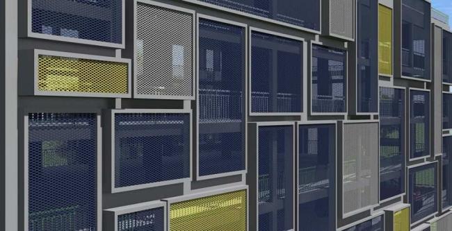 Дирекция гаражного строительства Типовые решения Вариант 1