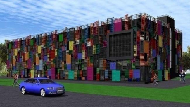Дирекция гаражного строительства Типовые решения Вариант 2