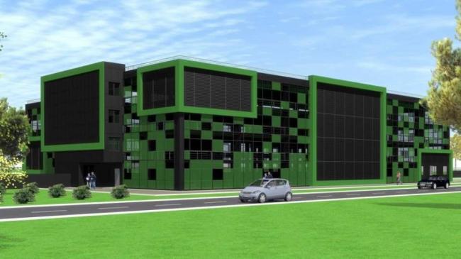 Дирекция гаражного строительства Типовые решения Вариант 3