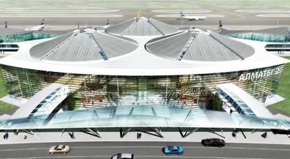Терминал международного аэропорта Алматы