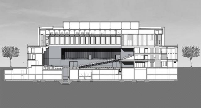 Концертный зал Штадтхалле © Max Dudler