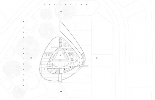 Храм северного сияния ©schmidt hammer lassen architects