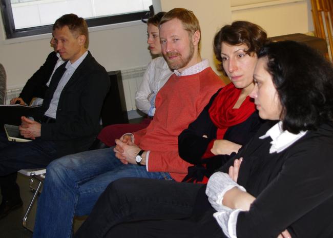 Преподаватели курса урбанистики Ярослав Ковальчук и Надежда Нилина