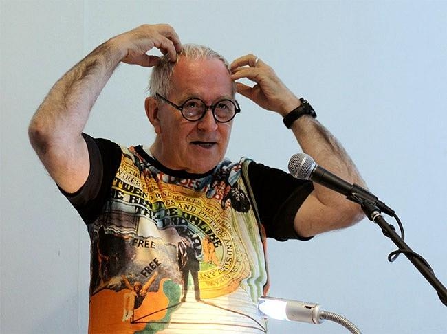Архитектор Питер Кук, член жюри конкурса Ecoffices Lima 2013. Фотография: www.balde.cl