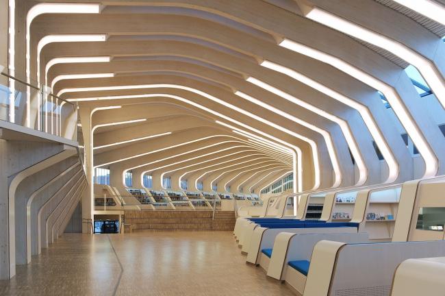Библиотека и культурный центр г. Веннесла, построенная архитекторами Helen & Hard. Фото: dronov.blogspot.ru