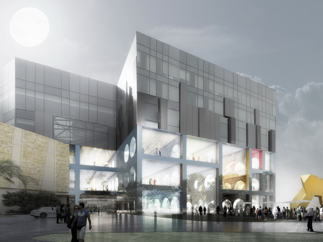 Универмаг The Exhibition Hall © OMA