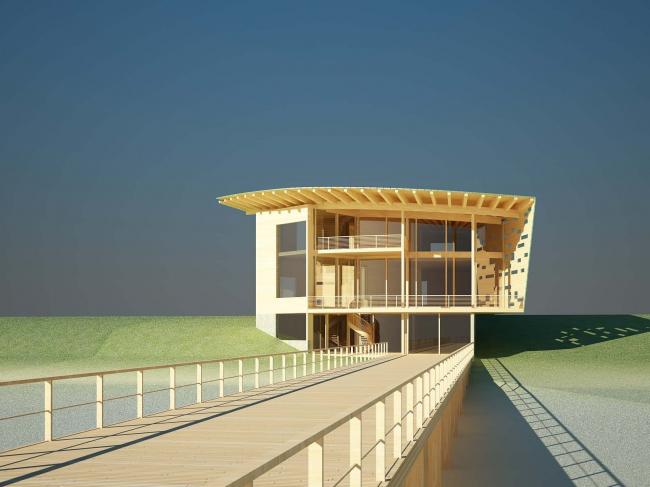 Дом Веер. 3D-модель