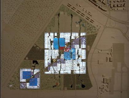 Район «Инициатива Масдар». Проект, 2007