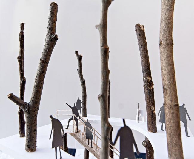 Forest tower. KATO Hiroshi (Япония-Дания)
