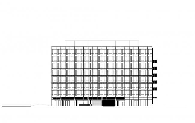 Офисное здание City Green Court © Richard Meier & Partners