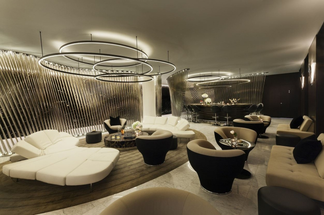 Гостиница Me London Hotel © Foster + Partners