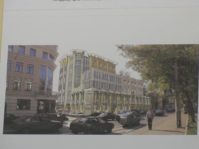Проект административного здания на Николоямской ул., 36/7 и 34, стр.1