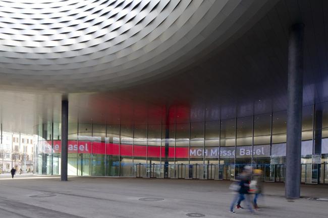 Выставочный комплекс в Базеле - новый павильон. Предоставлено MCH Group AG
