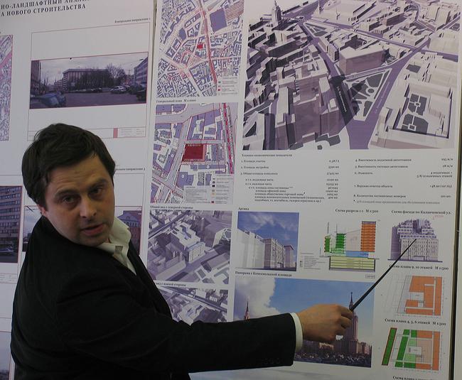 Проект гостинично-делового центра на Каланчевской ул., 4, стр.1,2,3,7