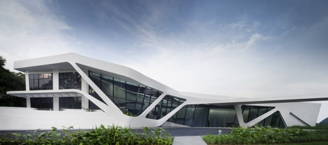 Жилой комплекс d'Leedon Singapore. Шоу-рум © Zaha Hadid Architects