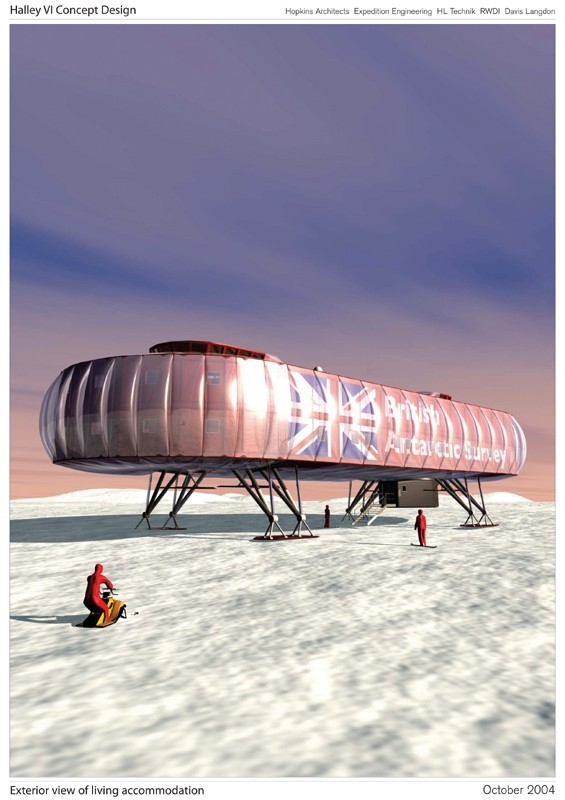 Проект Hopkins Architects и Expedition Engineers