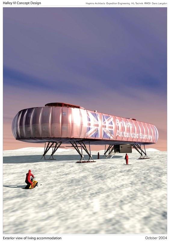 Проект Hopkins Architects и Expedition Engineers
