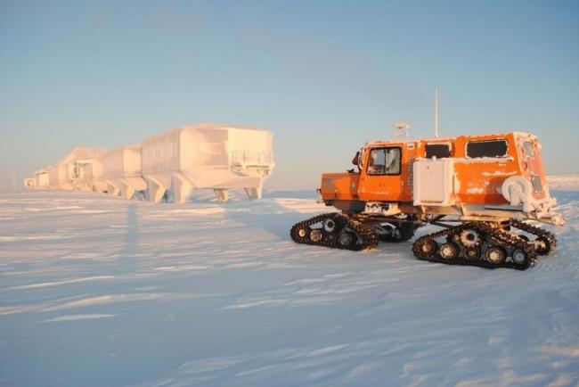 Антарктическая станция Halley VI © James Goby/BAS