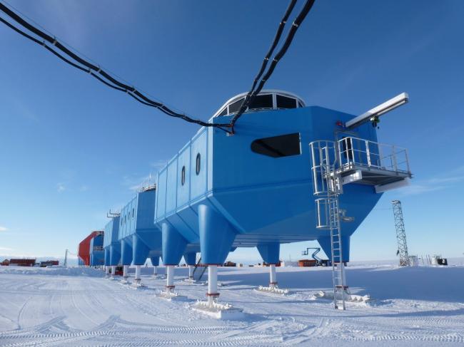 Антарктическая станция Halley VI © Hugh Broughton Architects