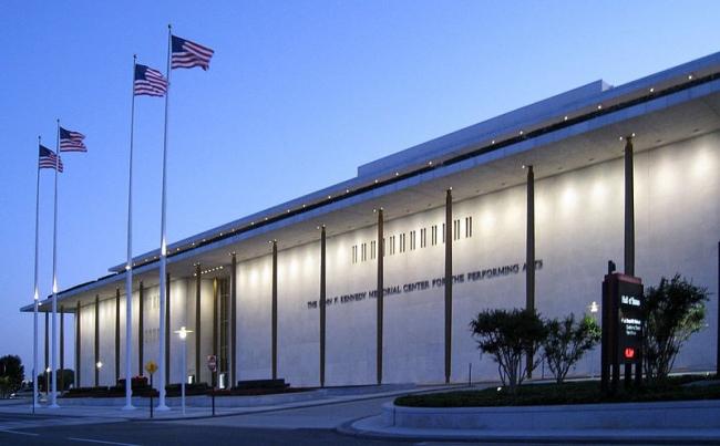 Центр исполнительских искусств Дж.Ф. Кеннеди. 1971. Вид сегодня. Фото Wikimedia Commons