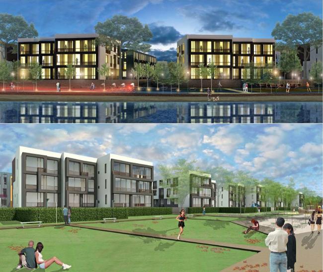 Жилой комплекс «Андерсен». Проект, 2013 © Архитектуриум