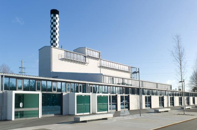 Культурный центр Kulturwerk am See © Klaus Frahm, Arturimages