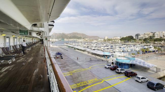 Терминал круизных лайнеров в порту Картахены © David Frutos