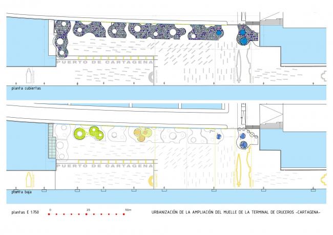 Терминал круизных лайнеров в порту Картахены © Martín Lejarraga