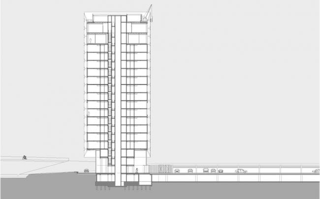 Гостиница Fletcher Hotel © Benthem Crouwel Architekten