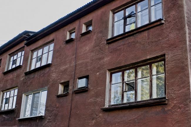 Фрагмент фасада жилого дома. Предоставлено автором
