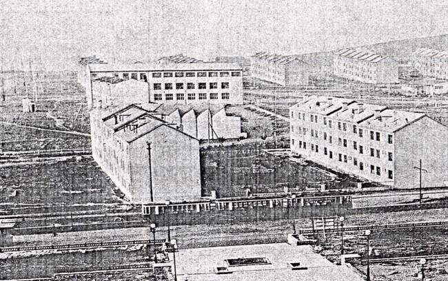 Квартал № 1 соцгорода. Начало 1930-х годов. Предоставлено автором