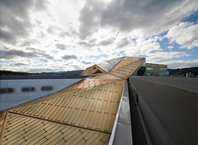 Гостиница Clarion Hotel and Congress Trondheim © Peter Hebeisen