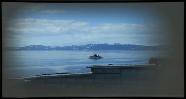 Гостиница Clarion Hotel and Congress Trondheim. Вид из окна © Space Group