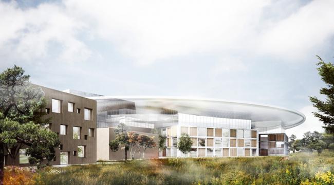 Европейский центр исследования материи © Luxigon