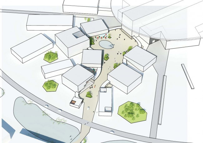 Европейский центр исследования материи © Henning Larsen Architects