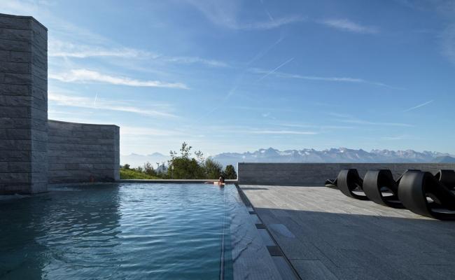 «Минеральный сад» и термальные бани © Enrico Cano